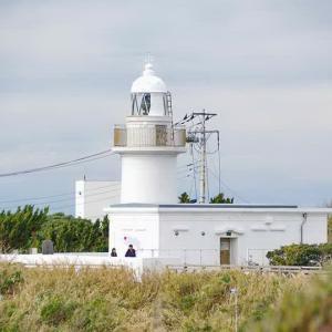 城ヶ島灯台(散歩の最後は城ヶ島灯台で夕日を眺める)