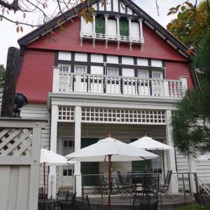 デ・ラランデ邸(今はカフェ「武蔵野茶房」として公開)