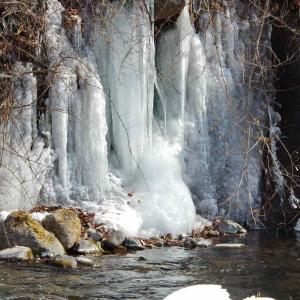 吐竜の滝(どりゅうのたき)北杜市