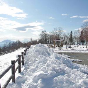 冬のまきば公園(北杜市)