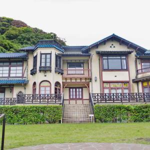 鎌倉文学館(建物)三島由紀夫の小説「春の雪」にも登場した別荘