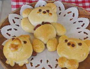 食の体験・クラフト体験(パンやクッキー作りに挑戦)