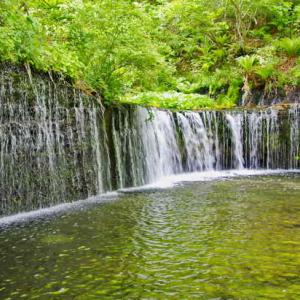 白糸の滝(しらいとのたき)軽井沢
