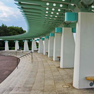 港が見える丘公園(「コクリコ坂」映画記念スポット)