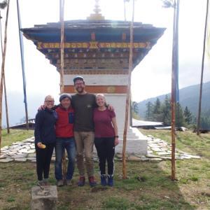 I'm still in Bhutan.