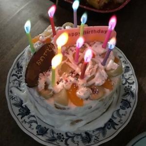 父と小2娘が、誕生日の息子のためにはじめてのケーキ作りにチャレンジ!