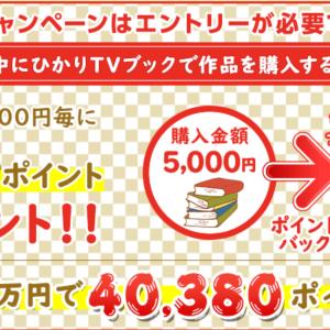 今度は5000円ごとに2019ポイントプレゼント!更にBLだと…