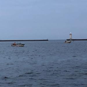 タチウオ釣り・・・えっ船が・・・!?
