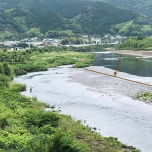爆笑・・勝浦川の鮎釣り!?