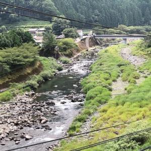 初秋のアユ釣りin勝浦川