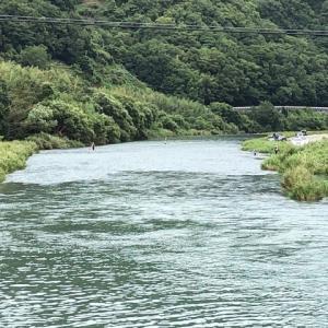 タチウオ釣りと鮎の友釣り!?