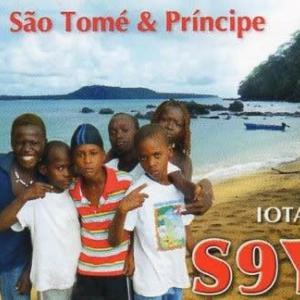 Buro 経由で届いた QSL card S9YY ( Sao Tome & Principe )