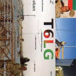 Direct で届いたQSL card T6LG ( Afghanistan )
