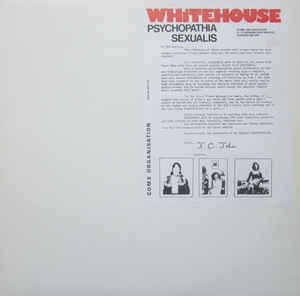 Whitrhouse- Psychopathia Sexualis [ 1982 , UK ]