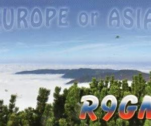 Buro 経由で届いた QSL card R9GM ( AS Russia )