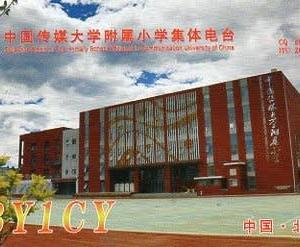 Buro 経由で届いた QSL card BY1CY ( China )