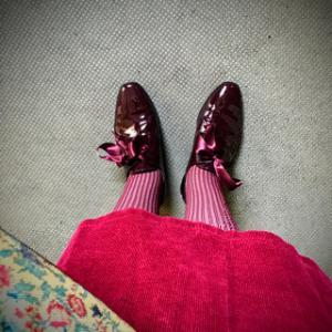 私はピンクがかった赤が好きです(再アップ)