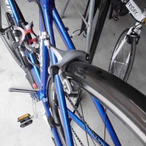 寄せ集め自転車のグレードアップ