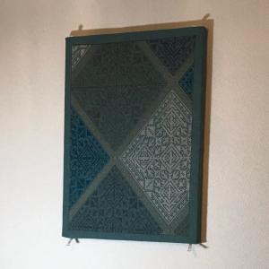 モロッコ刺繍 パネル作り〜