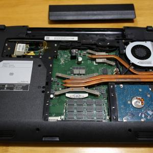 古いノートパソコンを修理してみた!