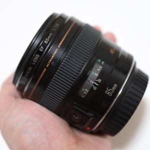 Canon EF85mm F1.8をもらってみた!前編