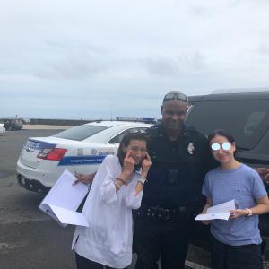 ハワイで警察のお世話になる。。。