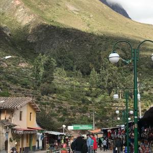 ペルーの思い出日記:マチュ・ピチュへ移動