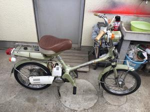 ホンダロードパル L(NC 50 )のメンテ