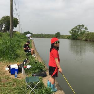 四ツ谷池釣行 子供サービス