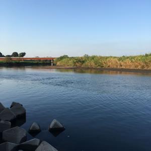 小貝川釣行 低活性?