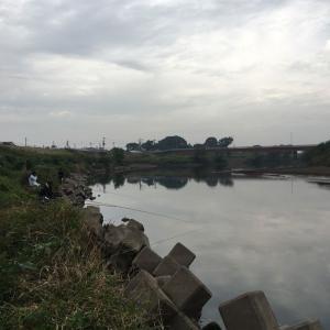小貝川釣行 メジャーポイント?