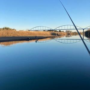 小貝川釣行 新年初フィッシュ?