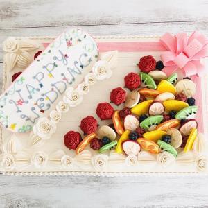 ウェディングケーキ♪