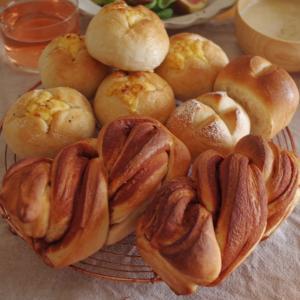 最近の色々とパンに合わせてワンプレートランチ