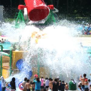 栃木県民には理解してもらえるであろう熱中症対策。一万人プールってしばらく行ってないけど、昔とはだいぶ変わったみたいですね。