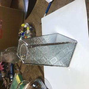 ガラスの花器!