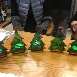 クリスマスツリーのキャンドルホルダー‼