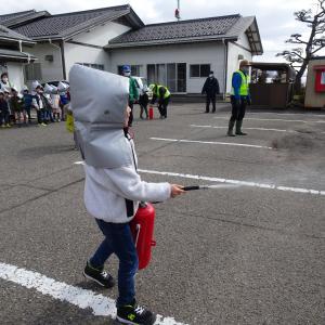 北平田保育園3・11に避難訓練