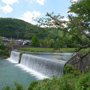 京都鴨川の柊野堰堤