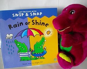 いろいろなお天気が楽しめる絵本 Rain or Shine
