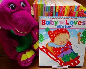 """1 月に読みたい英語絵本 """"Baby Loves Winter!"""""""