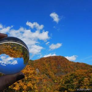 【定山渓】北海道・紅葉旅行☆レンズボールを携えて