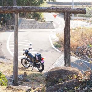 里山バイク散歩☆走り初めは名もなき鳥居めぐり