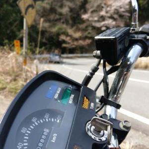 オドメーター・ゾロ目の風景でのバイク写真撮影