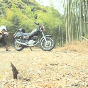 「自撮り中がバレないかも!」なバイク写真撮影に挑戦