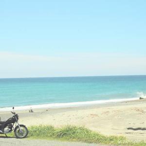 【御前崎】バイクで夏らしい風景を探しに行く☆YAMAHA SR125