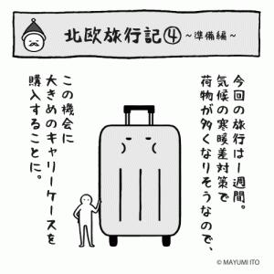 ●北欧旅行記④〜準備編…キャリーケース購入〜