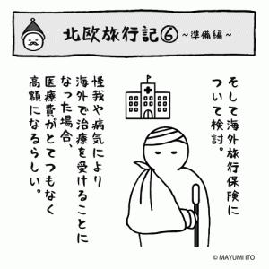 ●北欧旅行記⑥〜準備編…海外旅行保険〜
