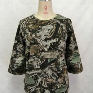 厚地綿ニットTシャツ