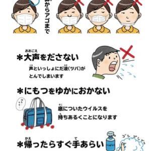 活用しよう! コロナウィルス予防対策ポスター、、と親の本音